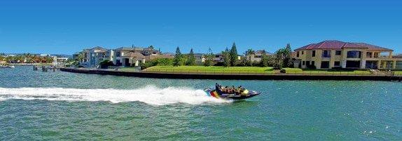 Sovereign Island Gold Coast Jet Boat